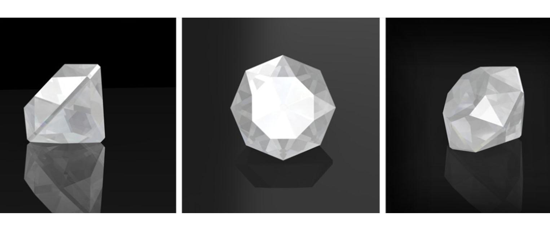 △馬札然切工 Mazarin Cut 被認為是第一顆明亮式切工鑽石