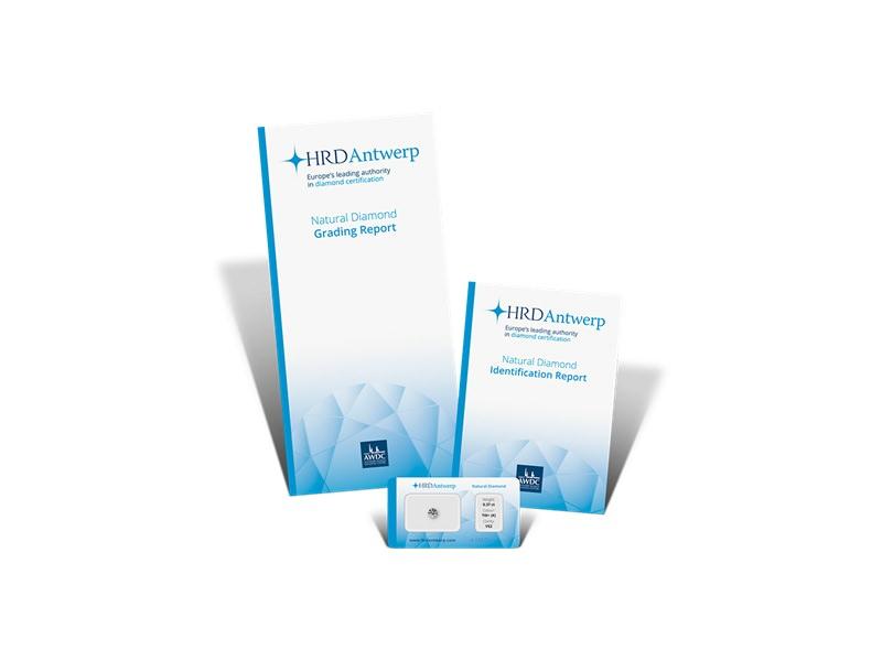 △HDR的證書具有國際流通性,歐洲的交易中很多地方會將HRD證書直接作為GIA證書的替代品