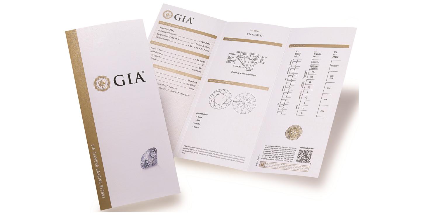 最完整的GIA證書『大證』
