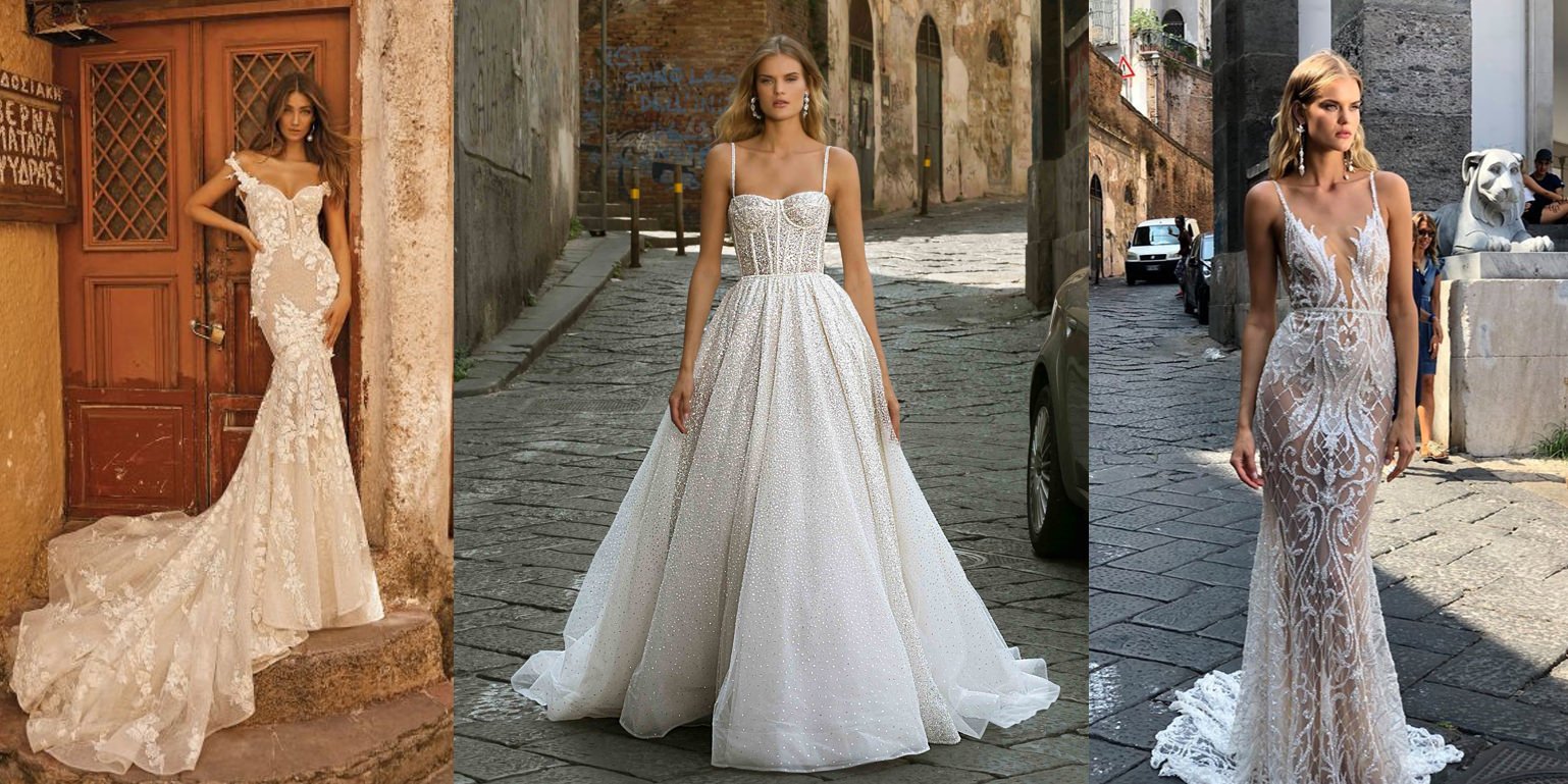 △ 婚紗鑽戒搭配,圖片取自 Berta ,若有侵權煩請通知下架