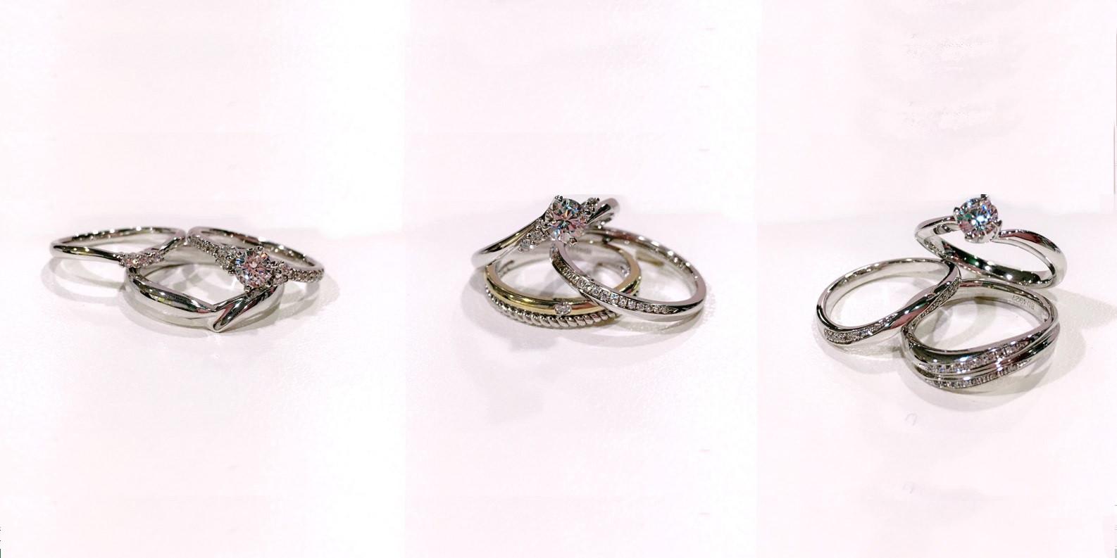GINZA DIAMOND SHIRAISHI 銀座白石,半訂製婚戒