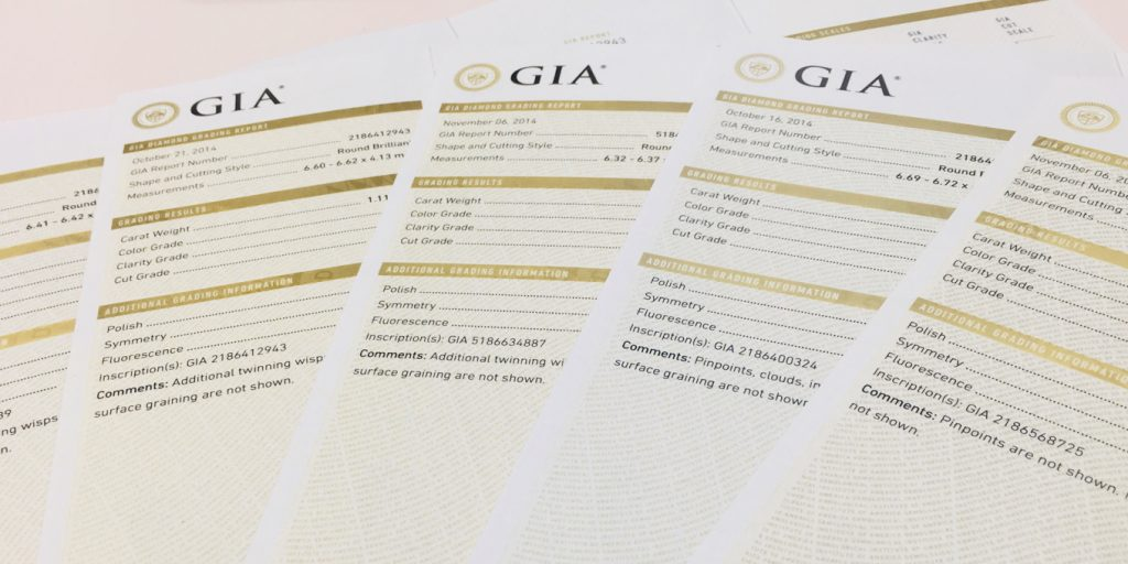 GIA Comments備註欄